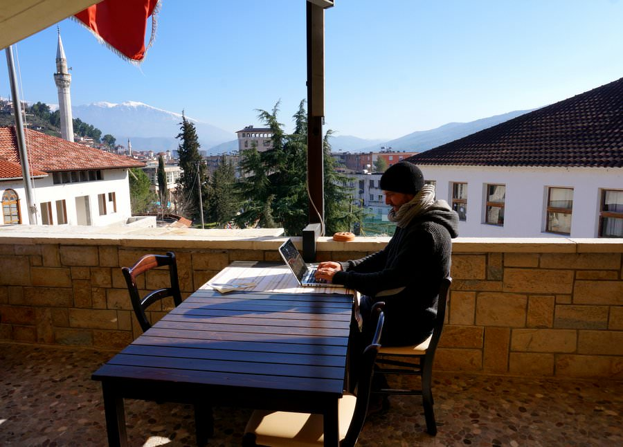 digital nomad travel to albania