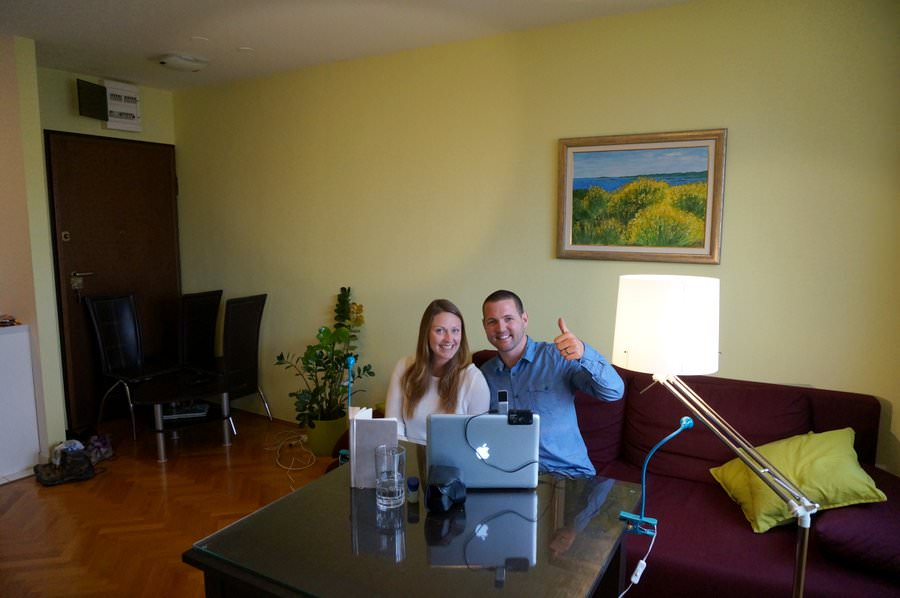renting an apartment in split croatia
