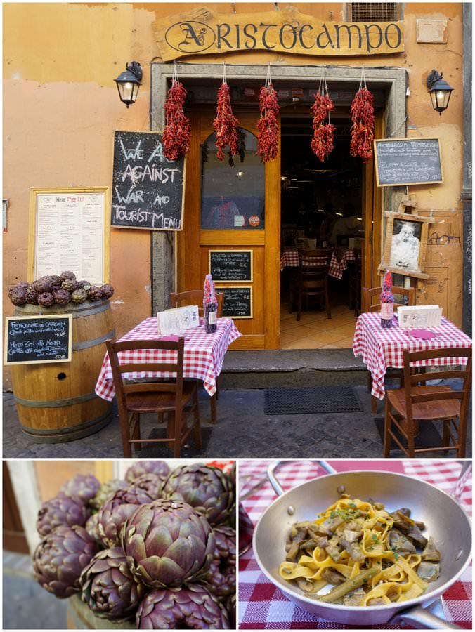 where to eat in trastevere rome