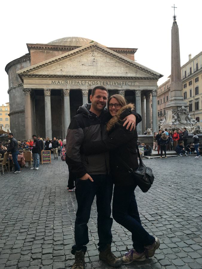 travel to italy pantheon