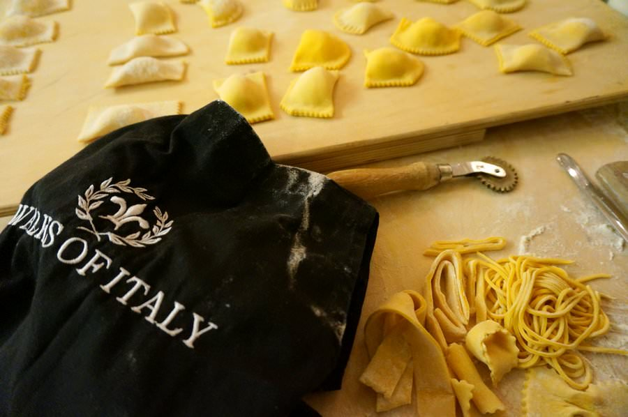 travelling to rome pasta making class