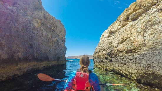 GoatLife TV Episode 83 - Kayaking Around Gozo & Comino in Malta