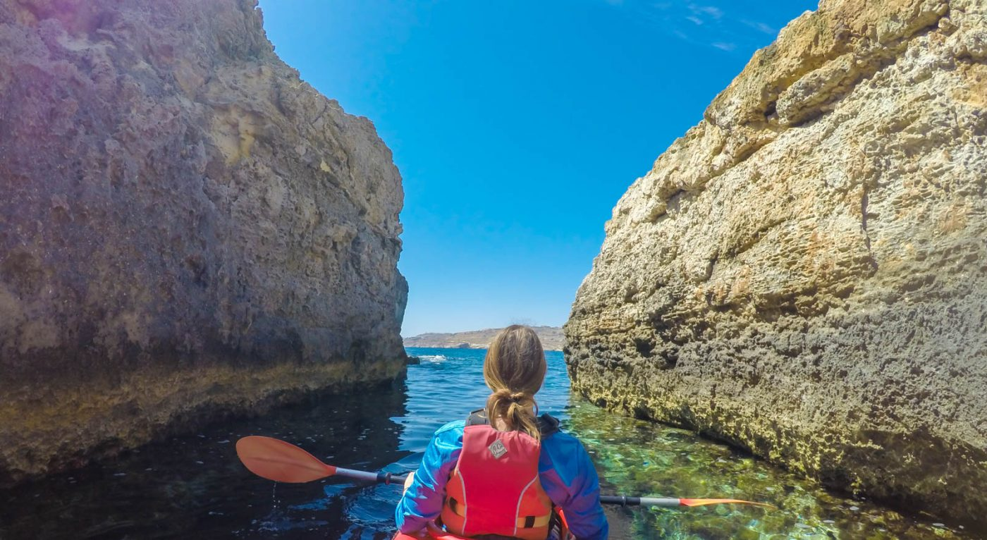 working from anywhere as an entrepreneur while kayaking