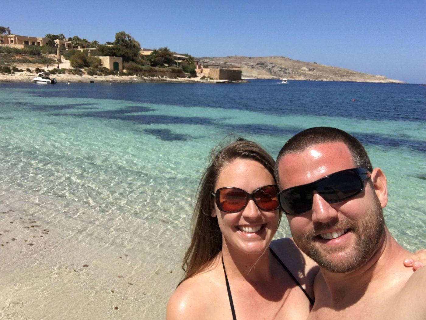 living in malta beach on comino