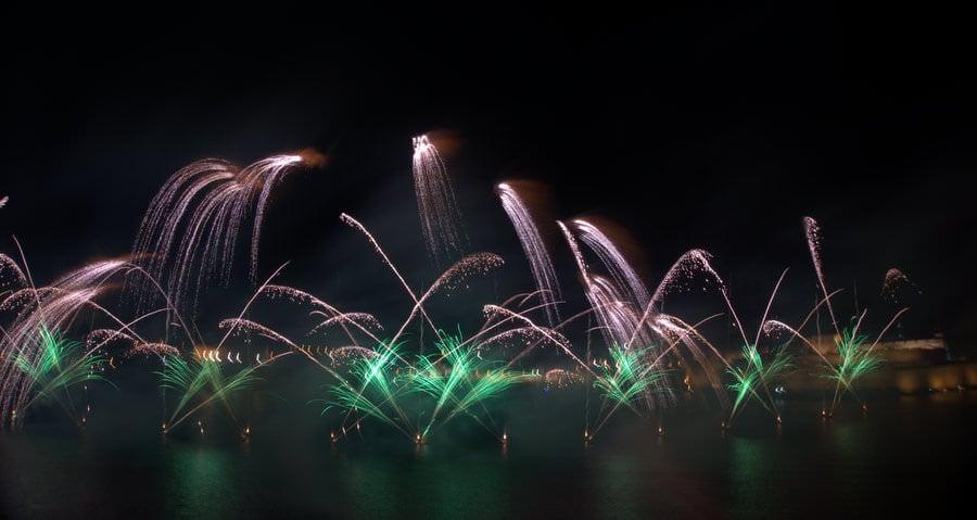 living in malta firework festival