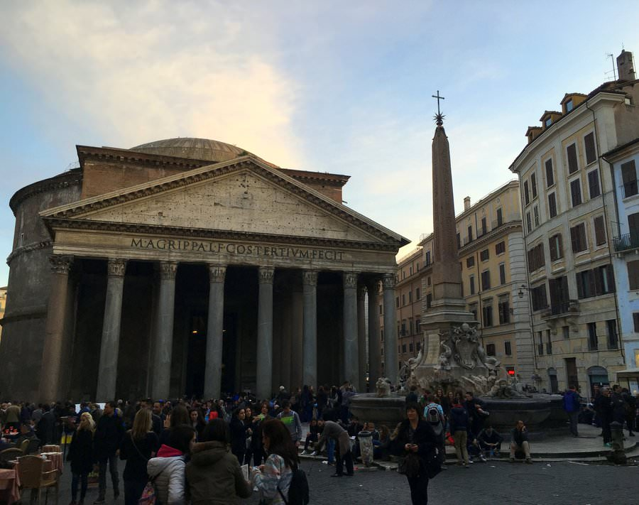 travel to rome the pantheon