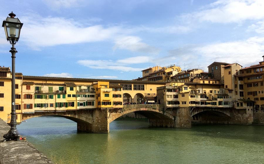 what to do in florence ponte vecchio bridge