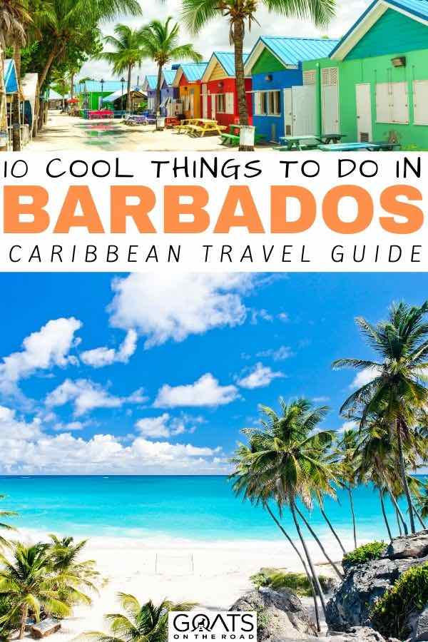 Barbados with text overlay 10 cool things to do