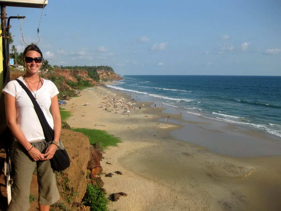 travelling to varkala india