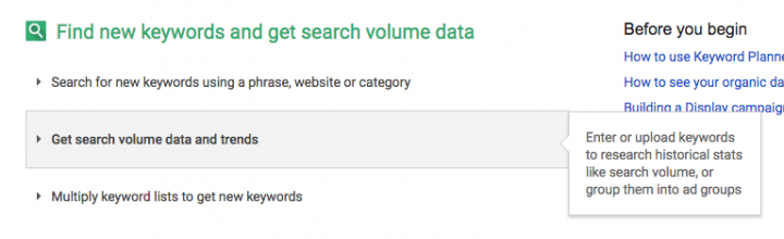 Keyword Tool Google