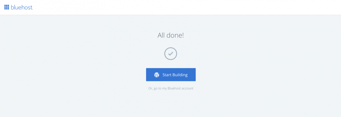 Starting a travel blog automatic login to wordpress dashboard with Bluehost