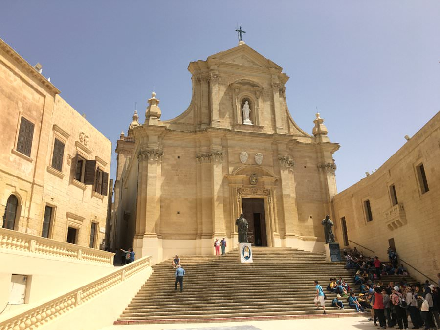 travel to gozo cathedral of the assumption