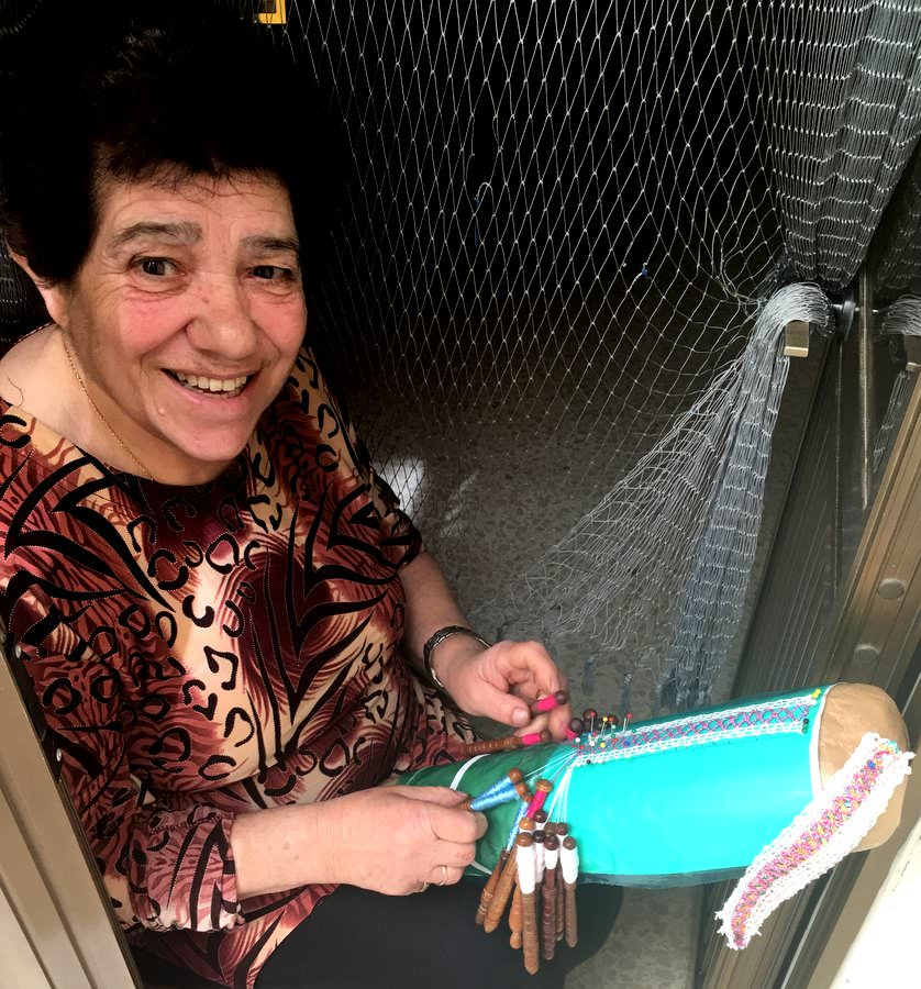travel to gozo lace making