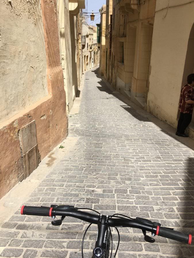 cycling in gozo island malta