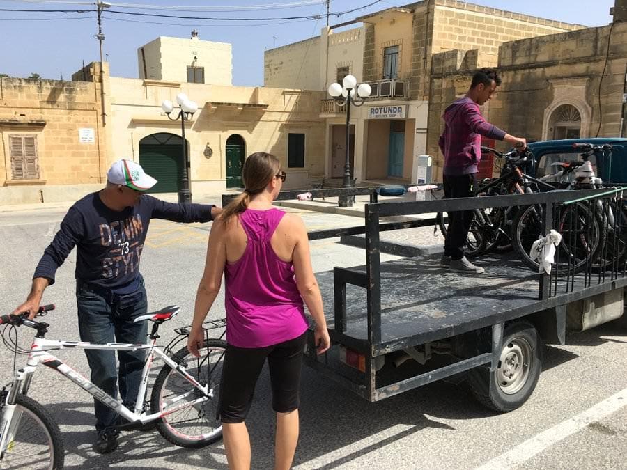 renting bikes on gozo island on two wheels