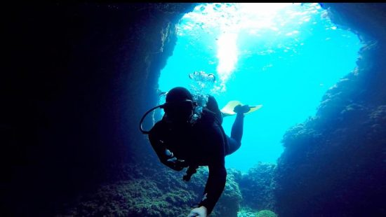 scuba diving in gozo