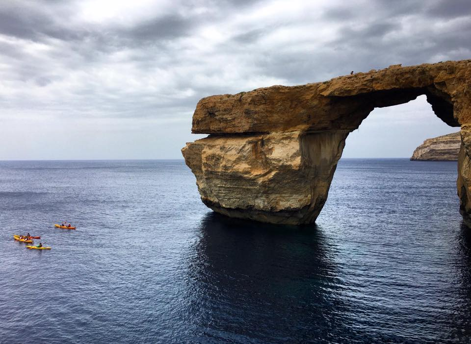 travel to gozo azure window
