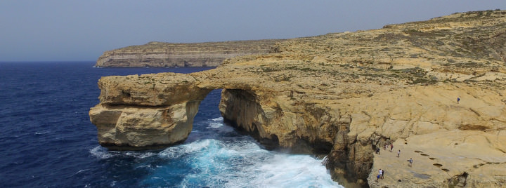 Visiting Malta Azure Window