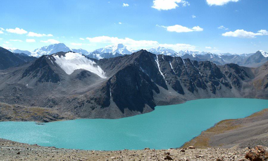 lake ala kul kyrgyzstan