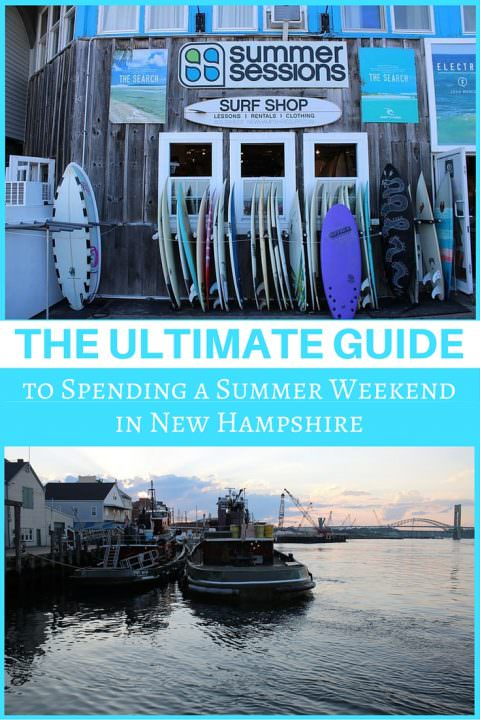 The Ultimate Guide to Spending a Summer Weekend in New Hampshire