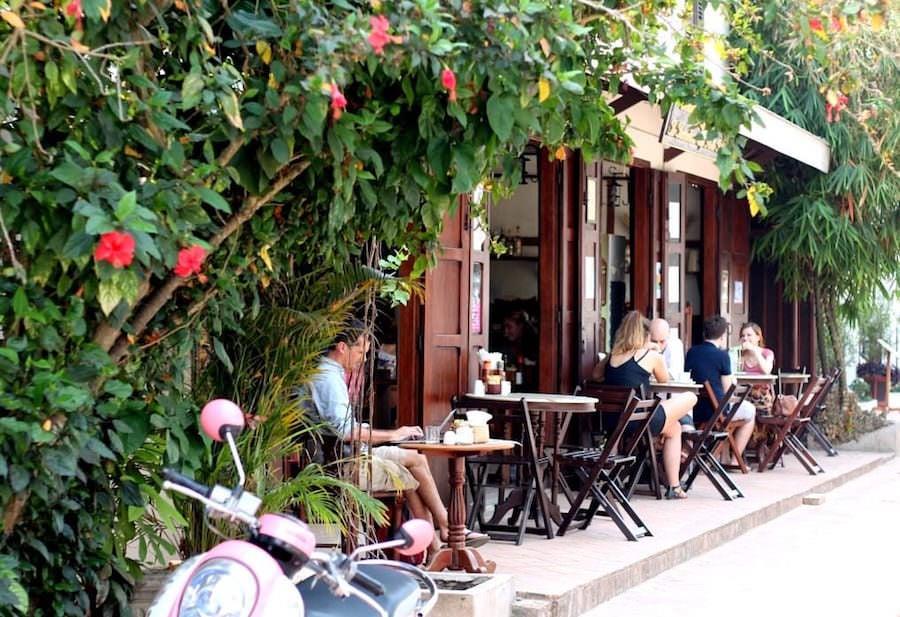 cafe luang pabang laos