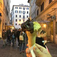 gelato in rome travelling to rome