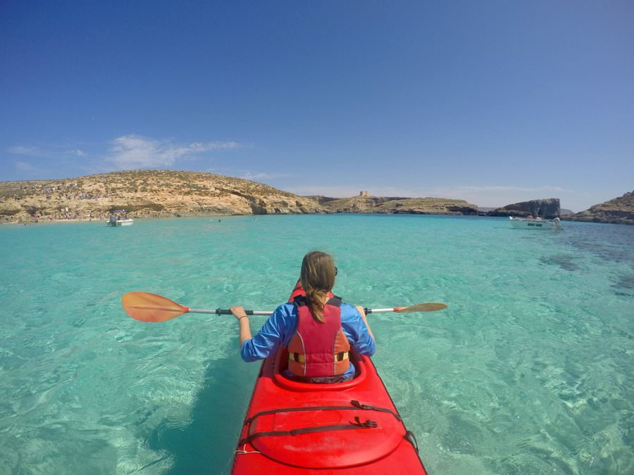 travel to blue lagoon comino