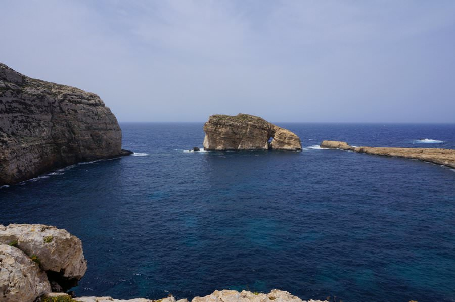 travel to gozo visit fungus rock