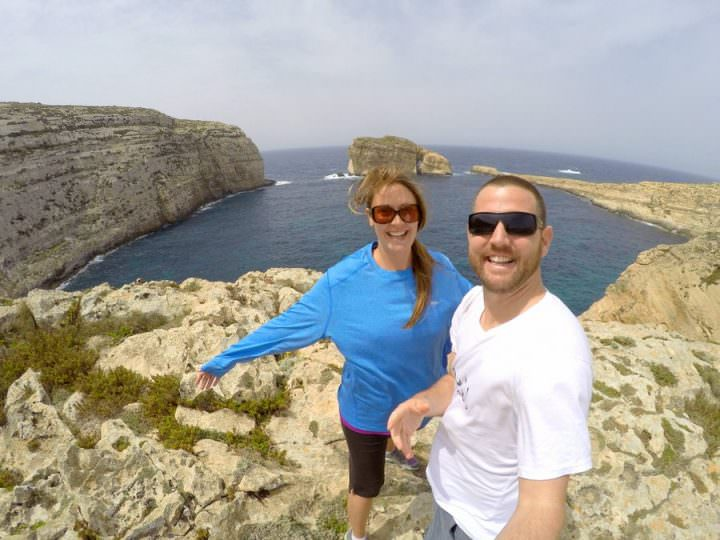 travel to gozo fungus rock