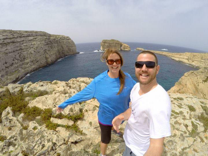 travel to gozo fungus rock