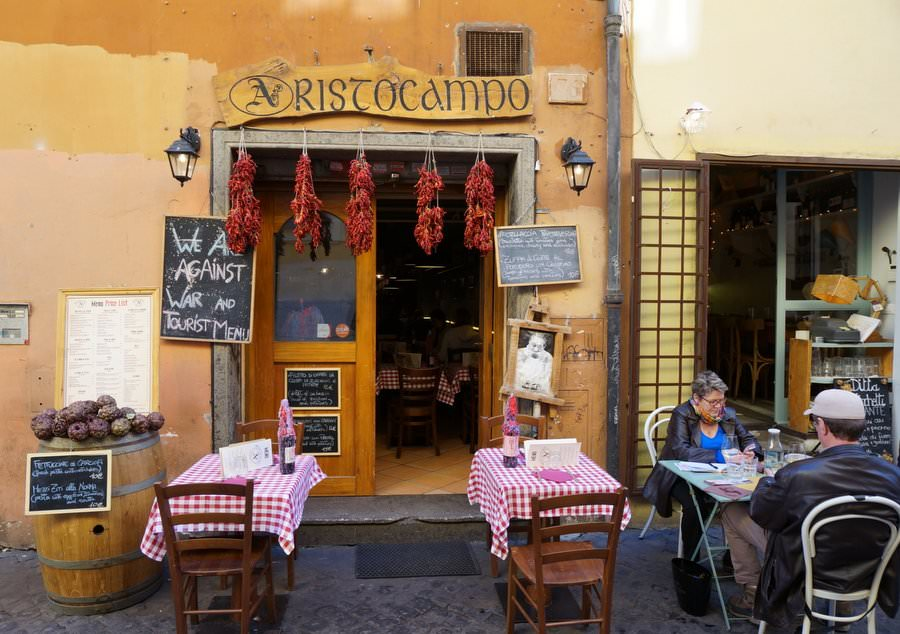 places to visit in italy don't miss rome and trastevere neighbourhood
