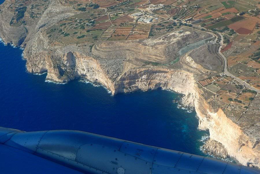 visiting malta dingli cliffs