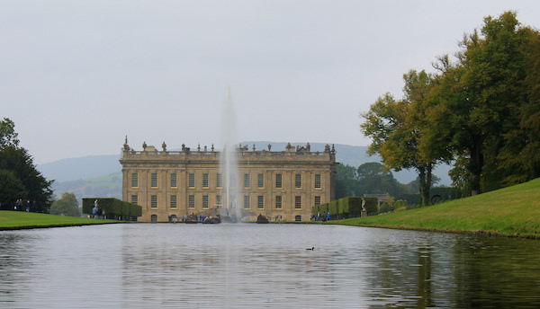 Chatsworth house, Peak District