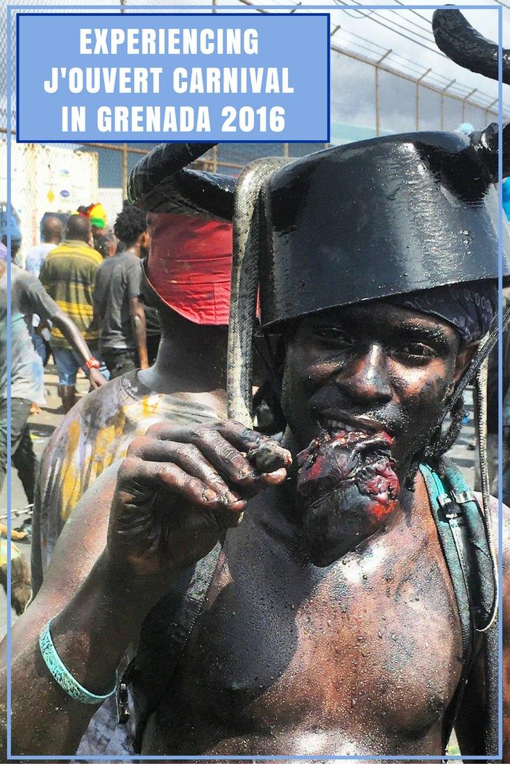GoatLife TV Episode 93 – Grenada Carnival 2016 J'ouvert (1)