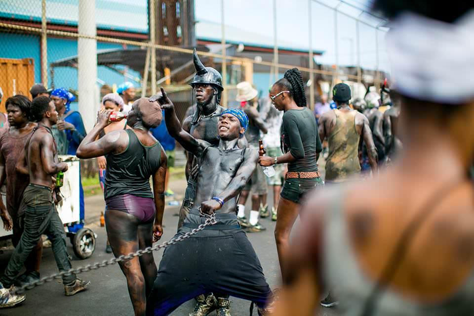 Grenada Carnival Jouvert 2016 Chains