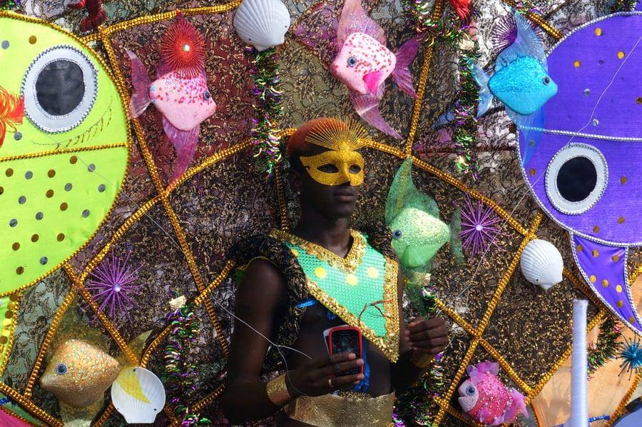 Grenada Mask Carnival Pretty Mas