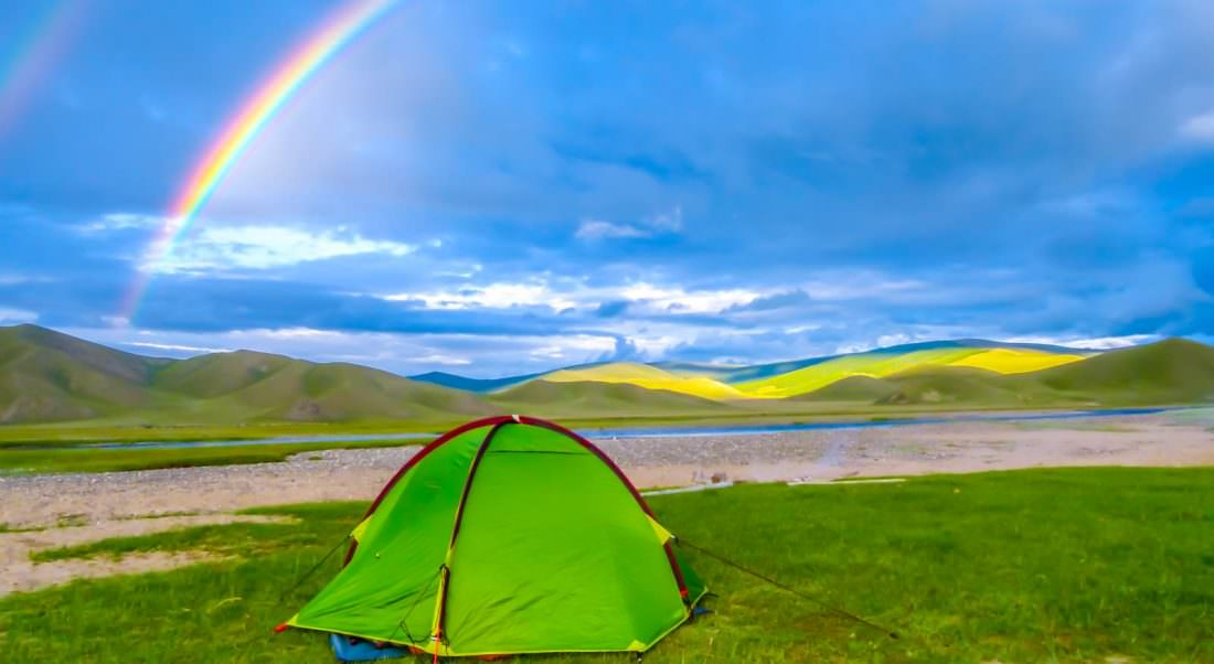 mongolia is one of the best visa free countries camping here is amazing