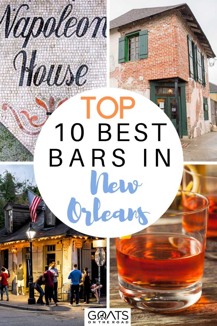 Top 10 Best Bars in New Orleans