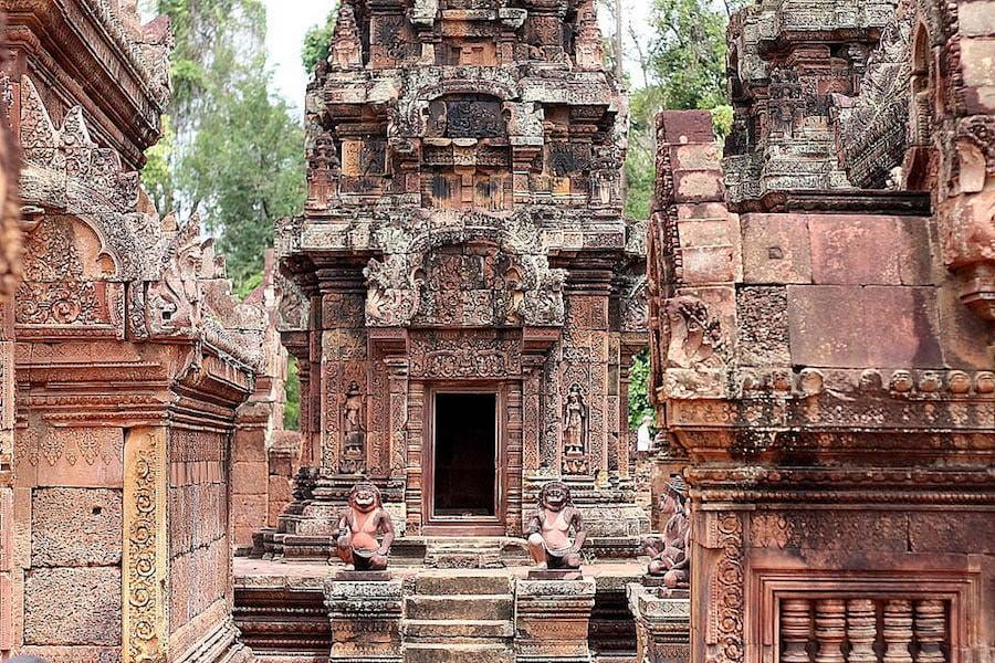angkor temples, banteay srey, cambodia