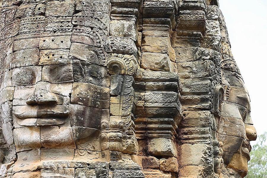 angkor temples, bayon, cambodia