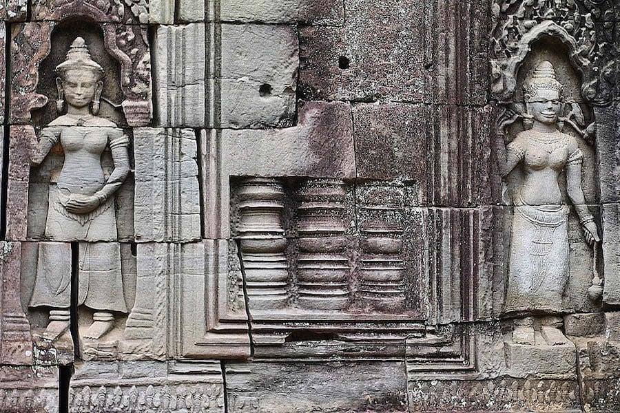 angkor temples, ta som, cambodia