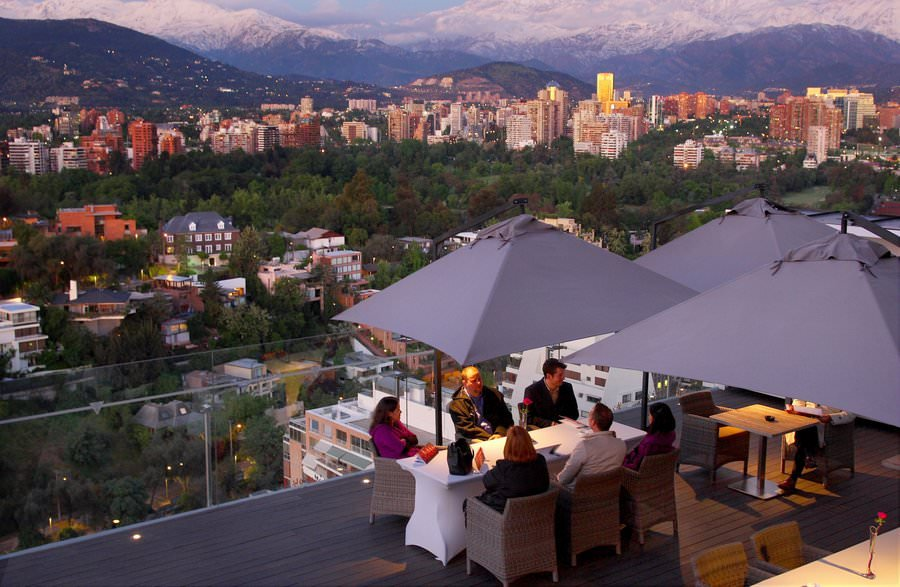 dining in santiago chile