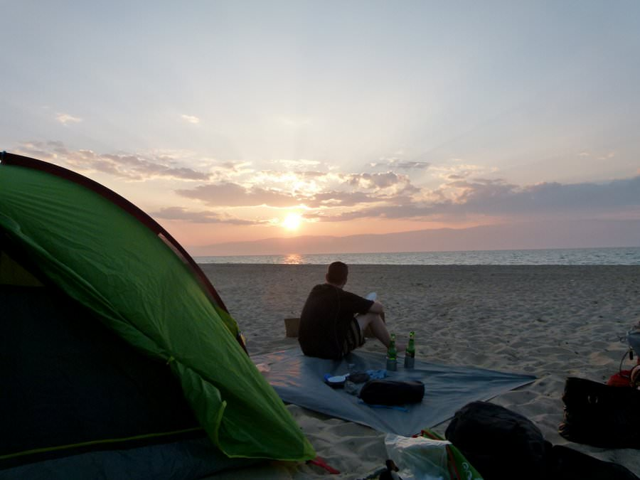 lake baikal camping