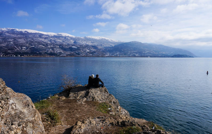 travelling to lake ohrid macedonia