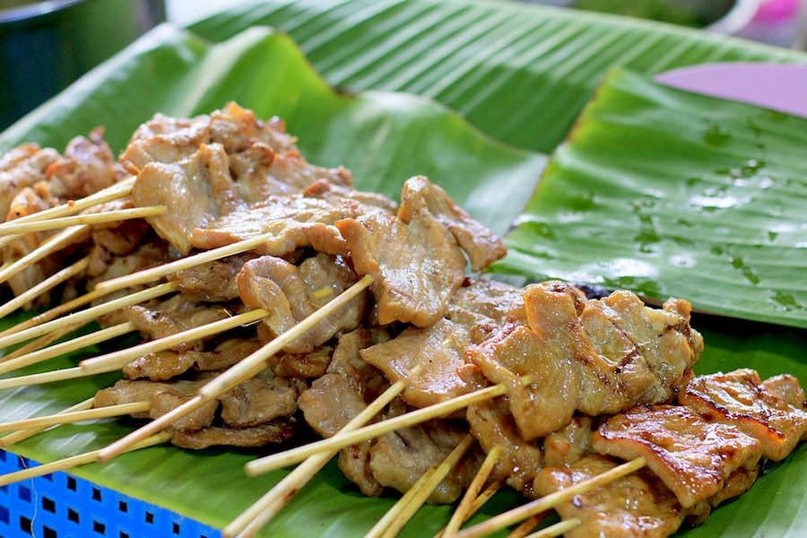 market, Luang Prabang