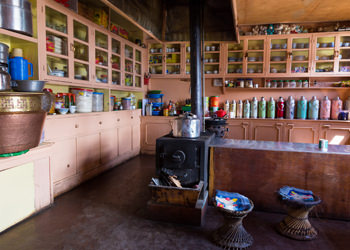 traditional nepalese kitchen