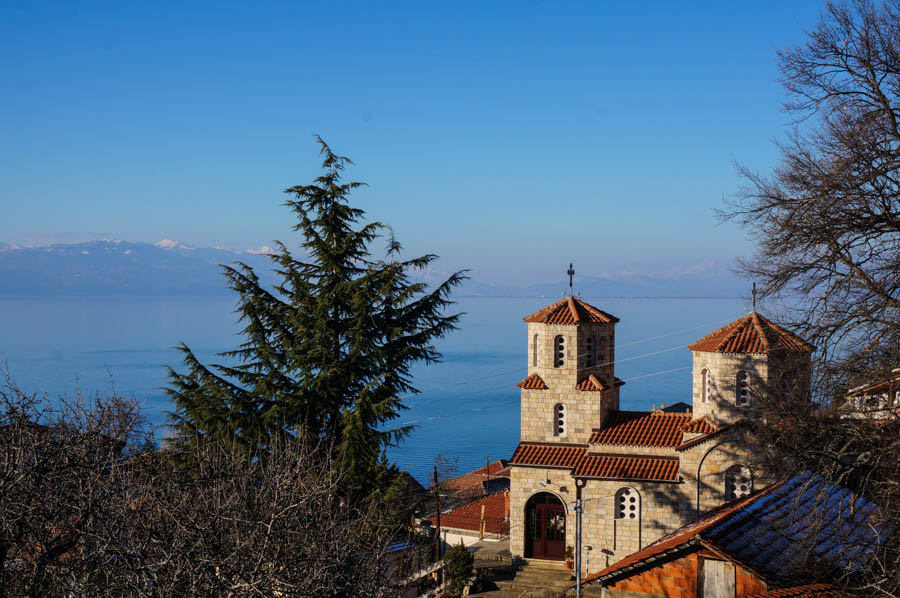 travel to lake ohrid with a rental car macedonia