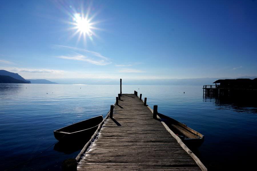 travel to lake ohrid macedonia