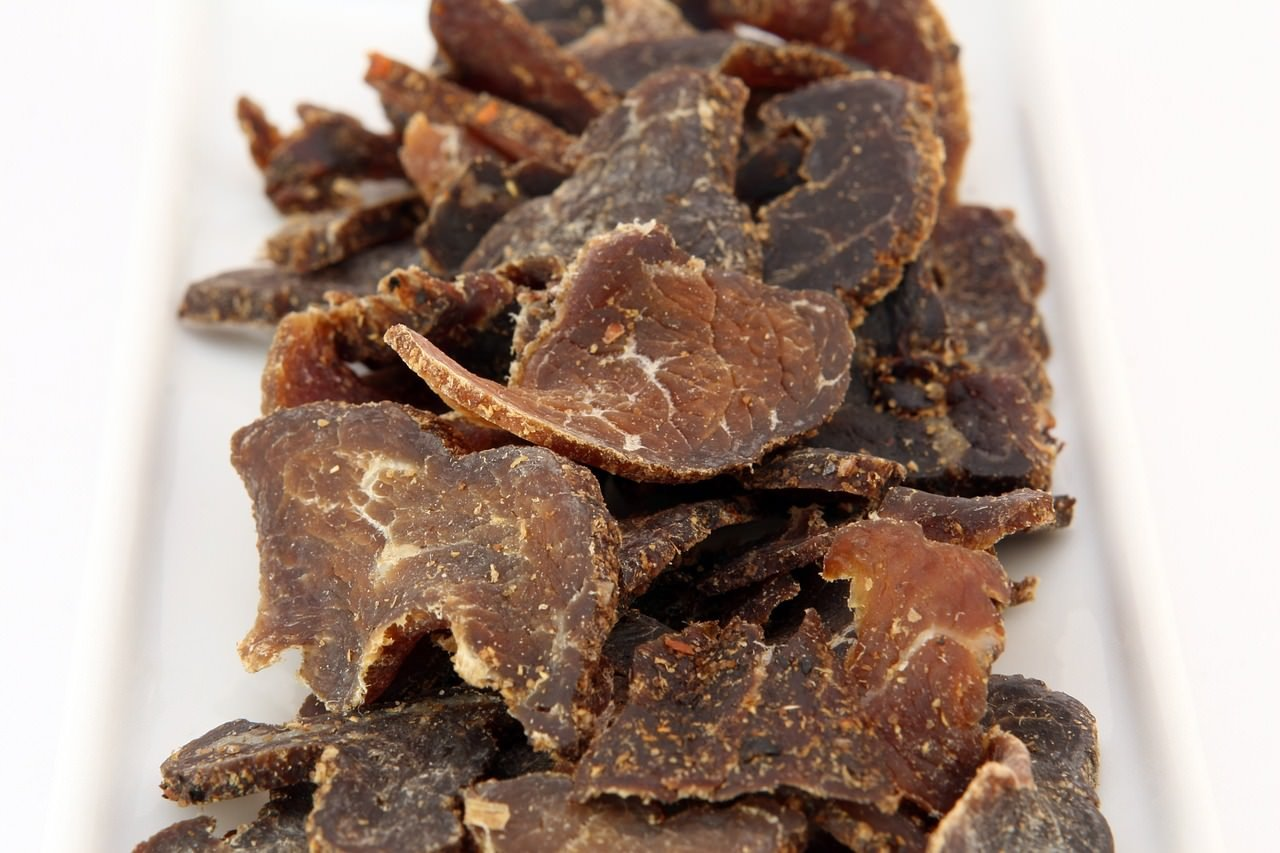 what to eat in namibia biltong
