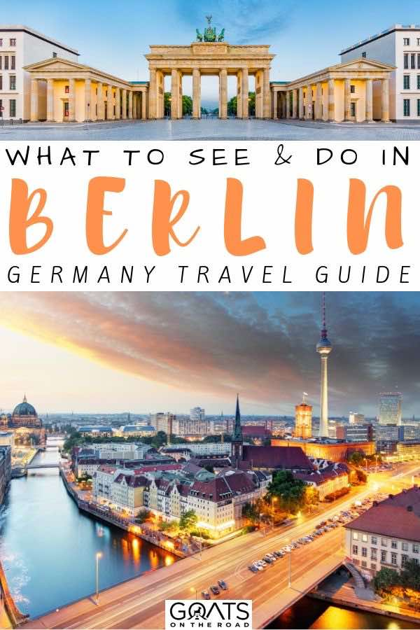 Berlin with text overlay what to see and do